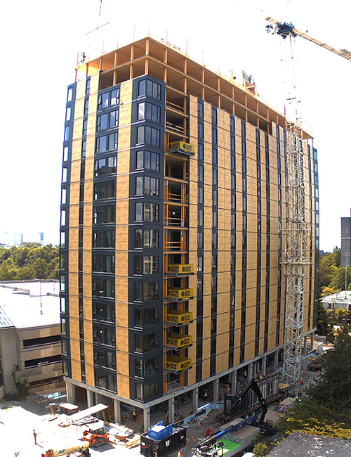 Tallest wooden building