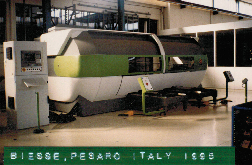 Biesse in the 90s