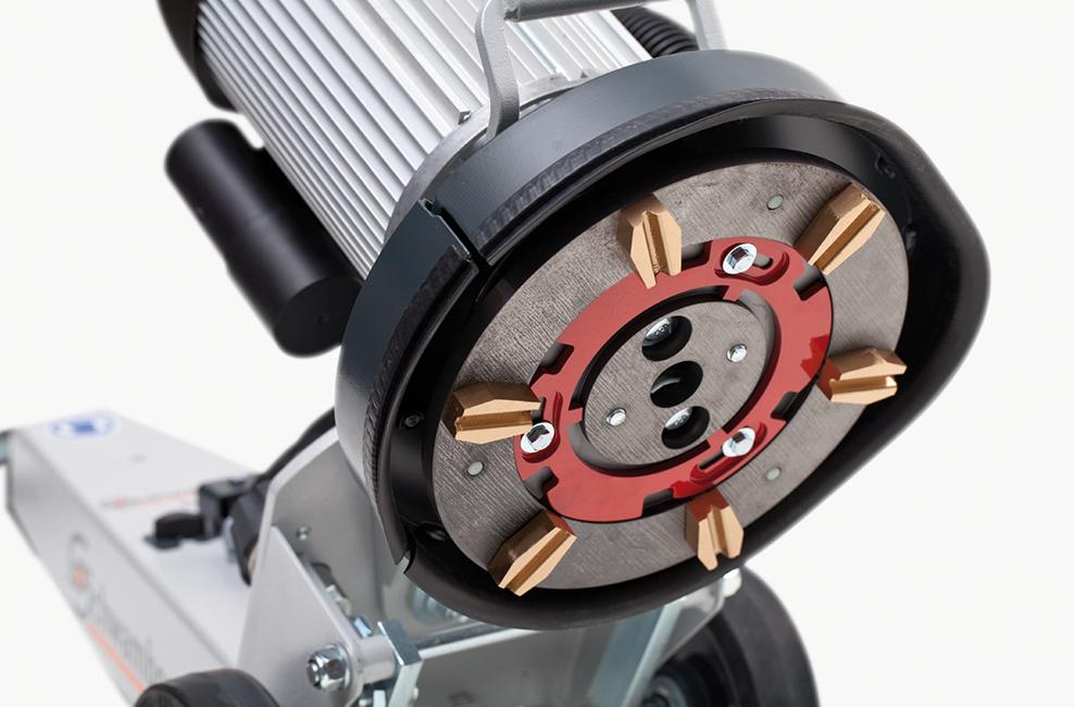 DSM250 Schwamborn floor grinder