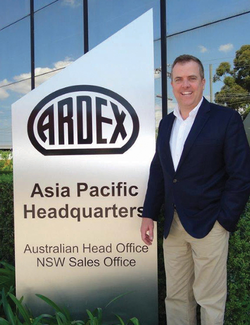 Ardex CEO Fabian Morgan